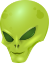 Alien Face Logo